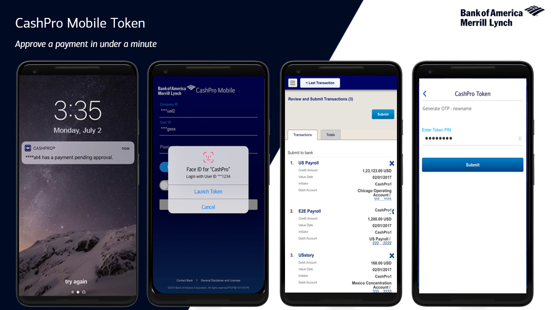 Cashpro Mobile Token
